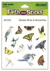 Stickers: Garden Birds & Butterflies