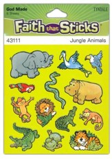 Stickers: Jungle Animals