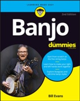 Banjo For Dummies, Book plus Online Video and Audio Instruction