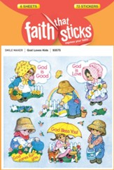 Stickers: God Loves Kids
