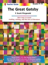 The Great Gatsby, Novel Units Teacher's Guide, Grades 9-12