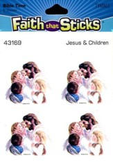 Stickers: Jesus & Children