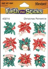 Stickers: Christmas Poinsettia