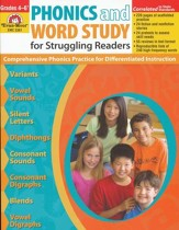 Phonics and Word Study for Struggling Readers Grades 4-6+