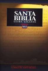 Biblia NVI Letra Gigante, Enc. Rústica  (NIV Giant Print Bible, Softcover) - Imperfectly Imprinted Bibles
