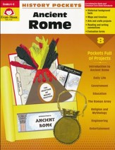 History Pockets: Ancient Rome, Grades 4-6