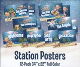 Twas the Light Before Christmas: Station Posters, Set of 12