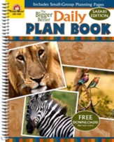 The Bigger Better Daily Plan Book, Safari Edition
