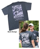 Cave Quest VBS 2016: Staff T-Shirt, Large (42-44)