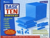 Blue Plastic Base Ten Starter Kit