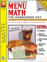 Menu Math: Hamburger Hut, Multiplication & Division