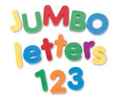 Jumbo Magnetic Letters & Numbers Combo Set