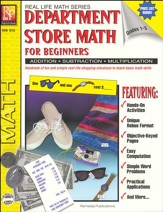 Real Life Math: Department Store  Math for Beginners