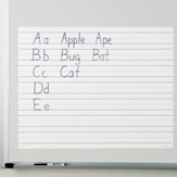 Write On/Wipe Off Magnetic Demonstration Handwriting Paper
