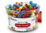 All About Me: Family Counters (Set of 72)