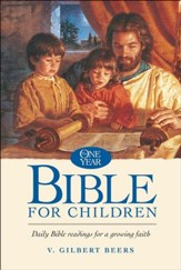 The NLT One Year Bible for Children