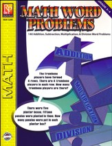 Math Word Problems, Grades 3-4
