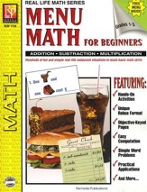 Real Life Math: Menu Math for Beginners