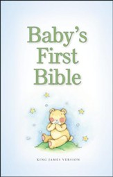 KJV Baby's First Bible, Blue - Slightly Imperfect