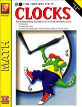 Time Concepts Series: Clocks, Grades  1-3