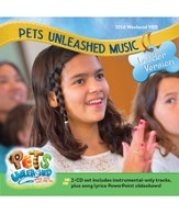 Pets Unleashed VBS: Music Leader Version 2-CD Set