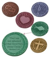 Rome VBS 2017: Bible Memory Makers, set of 5