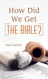 How Did We Get the Bible? - eBook