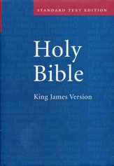 KJV Standard Text Bible, Hardcover, Red Letter