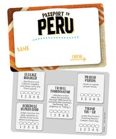 Passport to Peru VBS: Name Badges, 10 pk