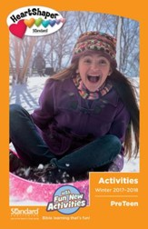 HeartShaper: PreTeen Activities, Winter 2017-18