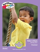 HeartShaper: Preschool Make-n-Share, Spring 2017