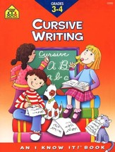 Cursive Writing, Grade 3-4, An I Know It! Book