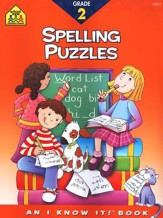 Spelling Puzzles, Grade 2 I Know It! series