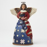 Bless the Stars and Stripes Patriotic Angel
