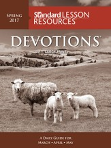 Standard Lesson Resources: Devotions® Large Print Edition, Spring 2017
