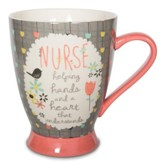 Nurse, Helping Hands and A Heart That Understands Mug
