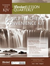 Standard Lesson Quarterly: KJV Adult Teacher's Convenience Kit, Summer 2018