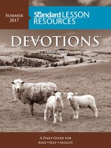 Standard Lesson Resources: Devotions® Large Print Edition, Summer 2017 - Slightly Imperfect