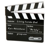 Living Inside Out: Epic Adventures - Clapboard Magnet (5 pack), Spring 2017