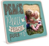 Peace Photo Frame, Pink