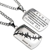 The Atonement Crown of Thorns Dog Tag