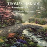 2020 Gardens of Grace Wall Calendar