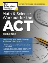 Math and Science Workout for the  ACT, 3rd Edition - eBook