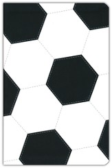 NIV Sports Collection Bible--soft leather-look with soccer design