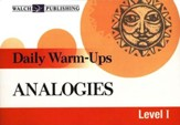 Daily Warm-Ups: Analogies, Grades 5-9