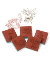 Maker Fun Factory VBS: Bible Memory Buddy Stampers, 5 pk