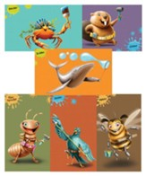 Maker Fun Factory VBS: Giant Bible Memory Buddy Posters, 6 pk