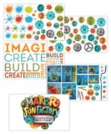 Maker Fun Factory VBS: Giant Decorating Posters, 5 pk