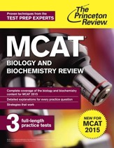 MCAT Biology and Biochemistry  Review: New for MCAT 2015 - eBook