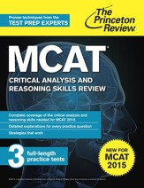MCAT Critical Analysis and Reasoning  Skills Review: New for MCAT 2015 - eBook